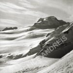Wind in the mountains, Valle d'Aosta, 1931, stampa vintage, cm 29x23, Cat MON_011